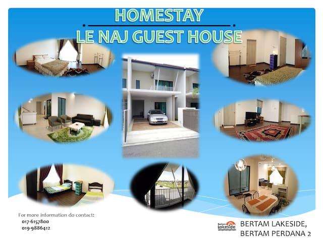 HOMESTAY :  LE NAJ GUEST HOUSE - Kepala Batas - Hus
