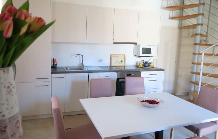 New two-floor apartment of 75 m2 with attic - Tremosine - Lägenhet