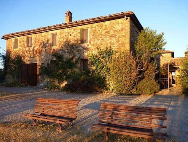 The Olive Tree  Farmhouse - Vico D'arbia - Hus