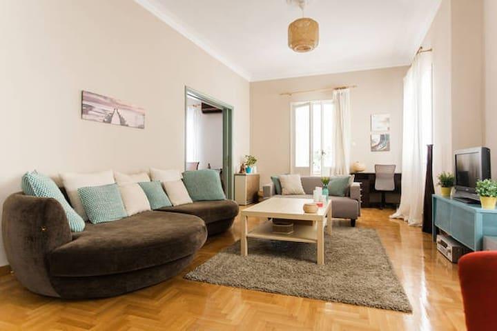 Room close to the beach and city center. - Atenas - Villa