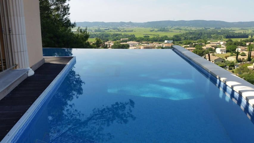 In provence, luxury private villa - Laudun-l'Ardoise - Villa