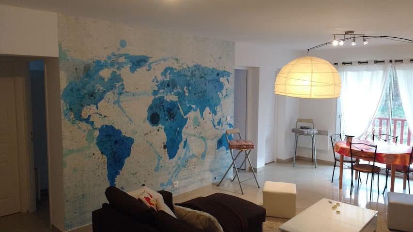 Lumière et confort au Pays Basque - Bidache - Apartamento