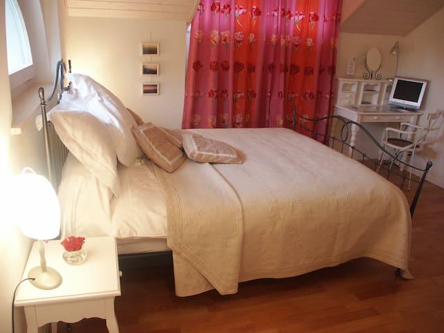 Cosy room in charming 19th century villa - Nyon - Huvila