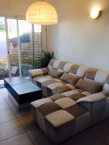 Appartement avec jardin - Bassens - Departamento