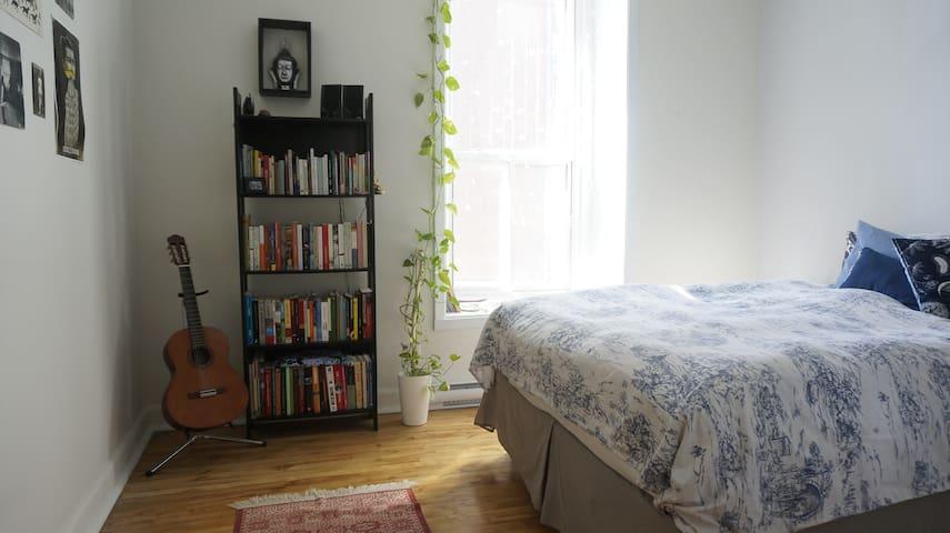 Sunny room, amazing location - Montréal - Appartamento