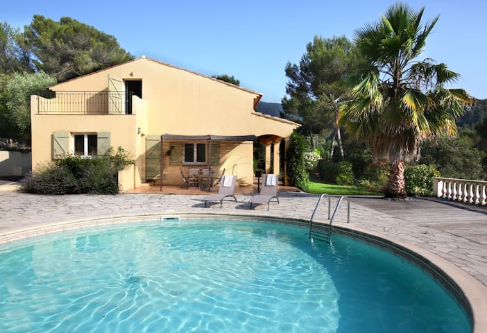5bdr with pool / retreat between Nice and Monaco - Drap - Hus