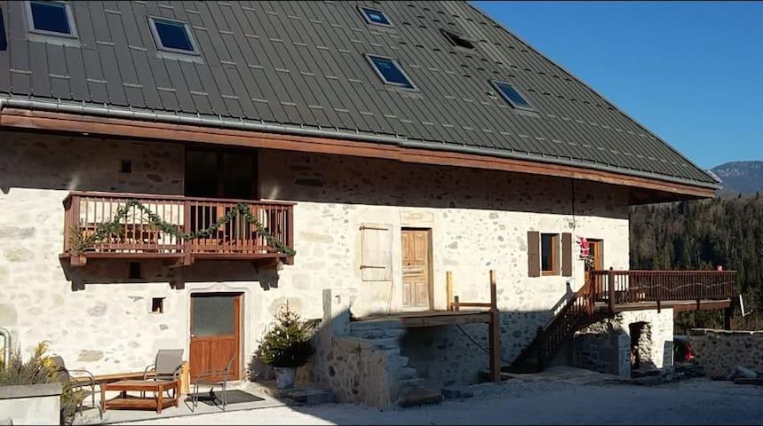 Gîte La Matouille - Bellecombe-en-Bauges - Departamento
