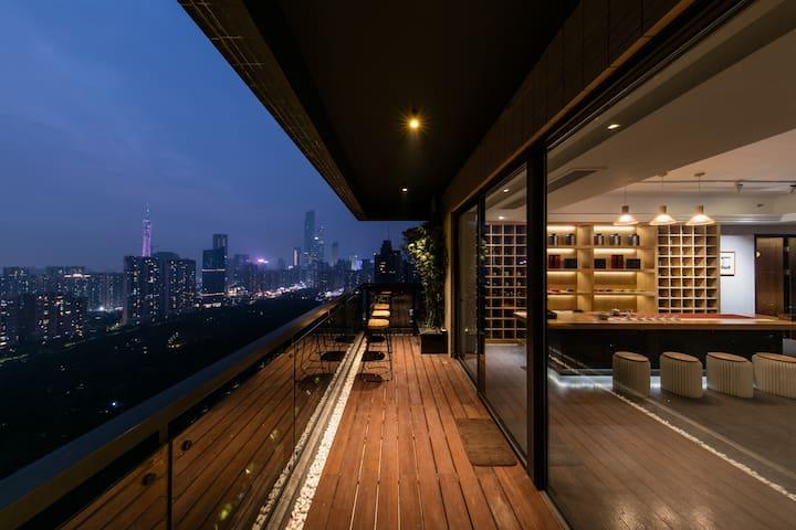 CBD/Luxury House/Canton Fair/Business travel - Guangzhou Shi - Appartement