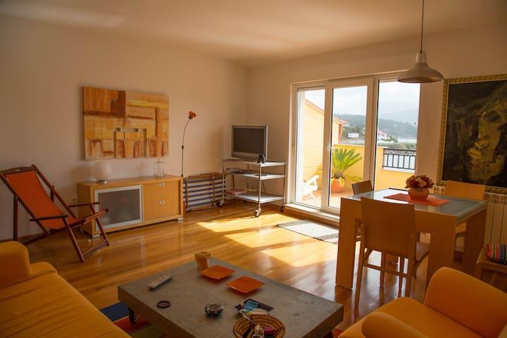 Apartamento a pie de playa - Muros - Daire
