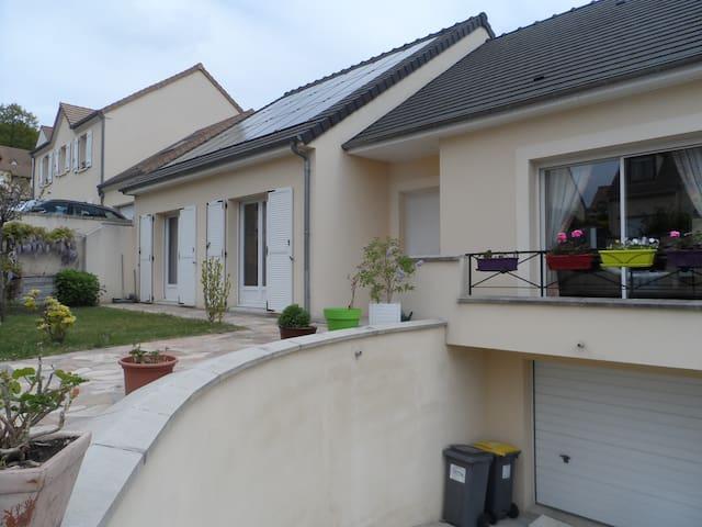 Deux chambres (12 et 9m2)  à Montlhéry (Essonne) - Montlhéry - Rumah