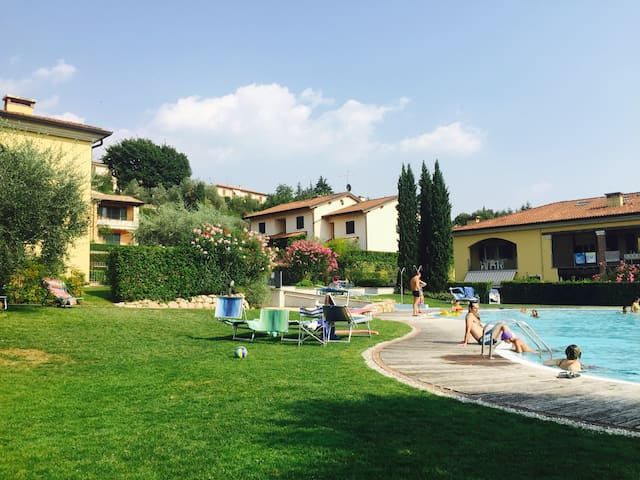 Ferien am Gardasee Italien.( ab2N) - Castion Veronese - Apartamento