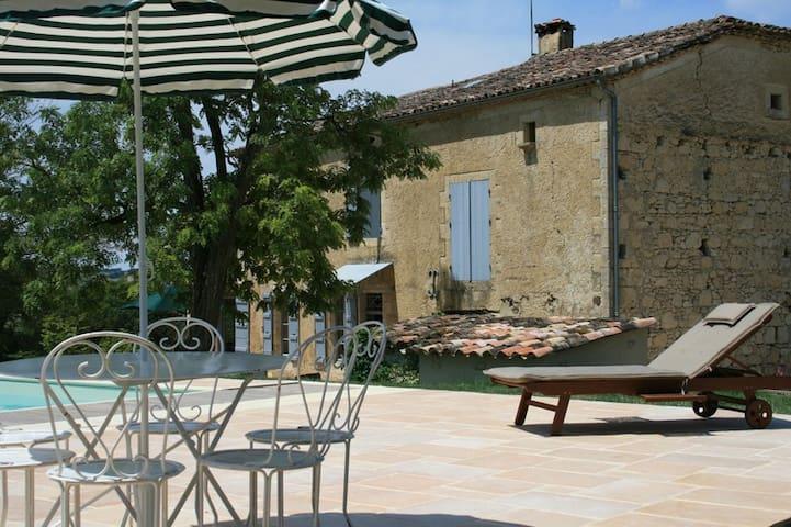 Traditional Gascon farmhouse with fantastic pool - Lectoure - Casa