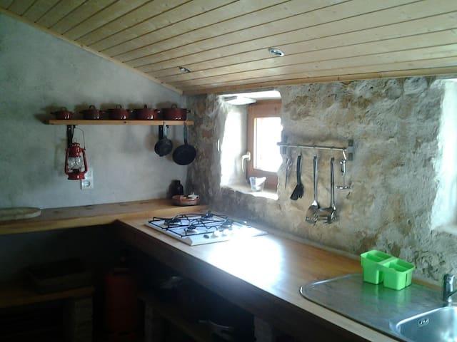 TRUJAL. Casa Rural Lo de Bruno - Caspe - Haus