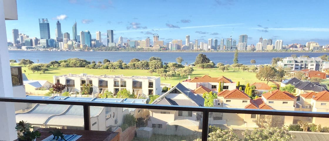 Luxury Apartment With Perth City Views - South Perth - Appartement