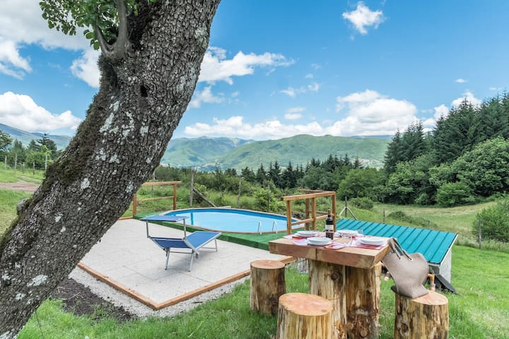 MEDITATION PLACE with POOL in GARFAGNANA - Casciana - Dom