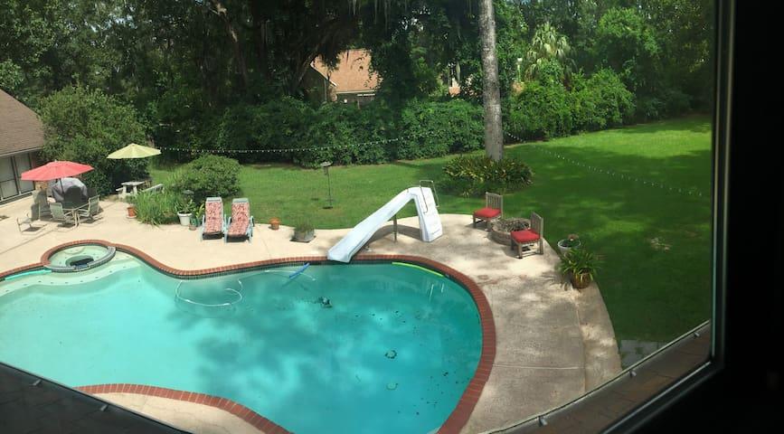 Apartment - Pool, Access to Bayou, 30 min to NOLA - Slidell - Lägenhet