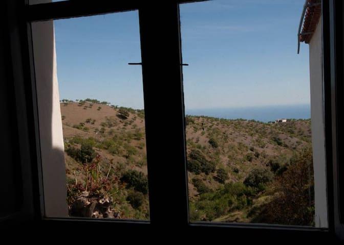 Charming rural apartment (upper) in southern Spain - Albondón - Huoneisto