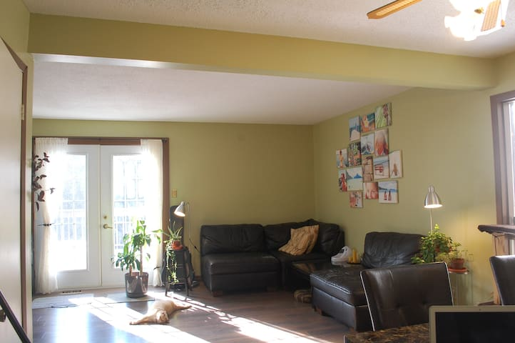 A Cozy Bed minutes from the Downtown - Ottawa - Casa