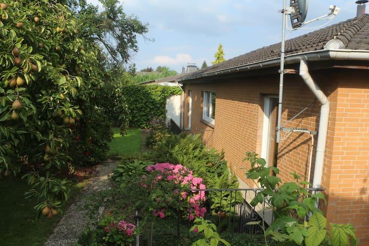 Souterrain Appartement in ruhigem Wohngebiet - Würselen - Daire