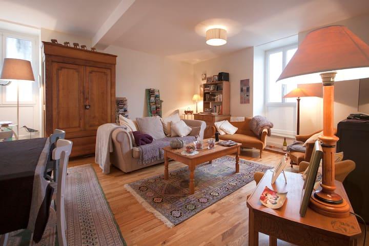 Chambre dble centre ville Morlaix - Morlaix - Apartmen