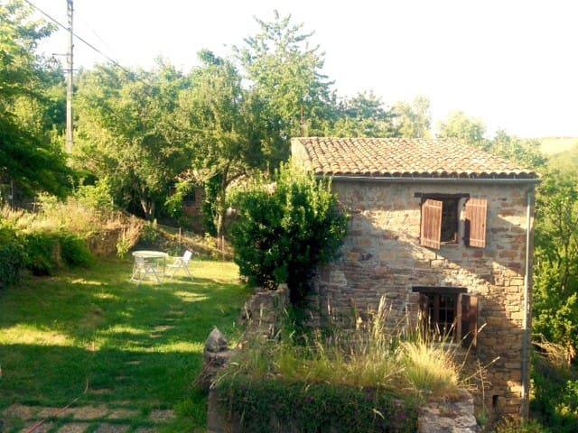 Petite maison avec jardin - Saint-Marcel-Campes - Dom