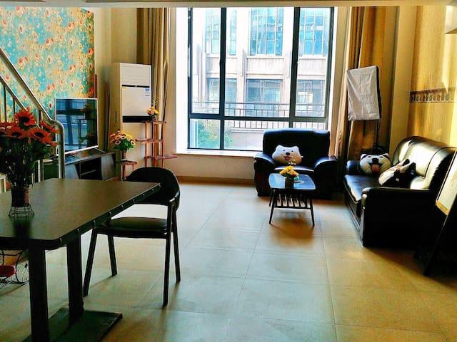 「小葵民宿」靠近南昌红谷滩万达广场 整套loft复式公寓房 - 南昌市 - Huoneisto