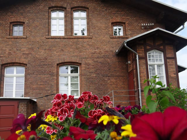 "Pension ""Alter Güterbahnhof"" - Rietschen - Appartement"