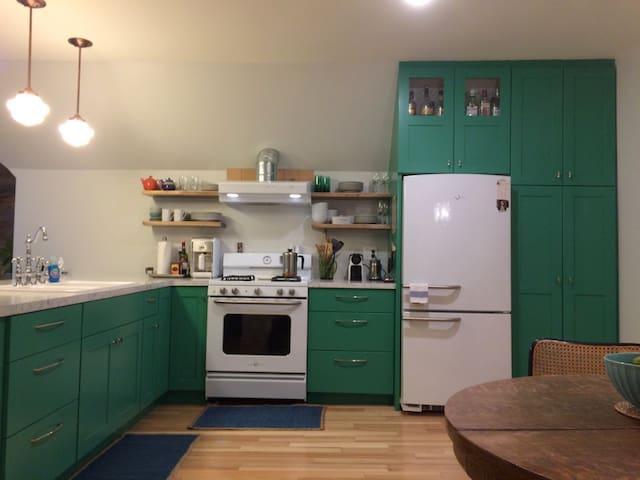 Eclectic Loft Apartment - Eau Claire - Departamento