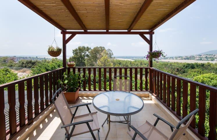 A private floor with sea view - Matzuva - Annat