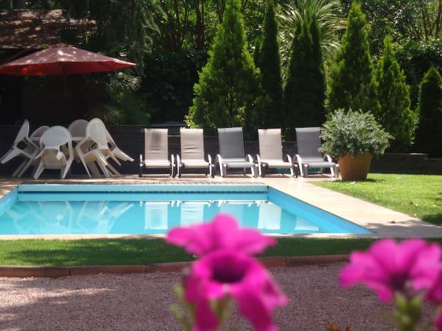 25 min from Madrid. Pool & garden - Galapagar - Дом