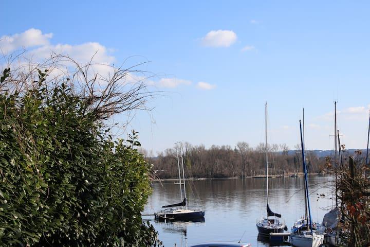 Appartamento in Villa tra natura e lago - Sesto Calende - Diğer
