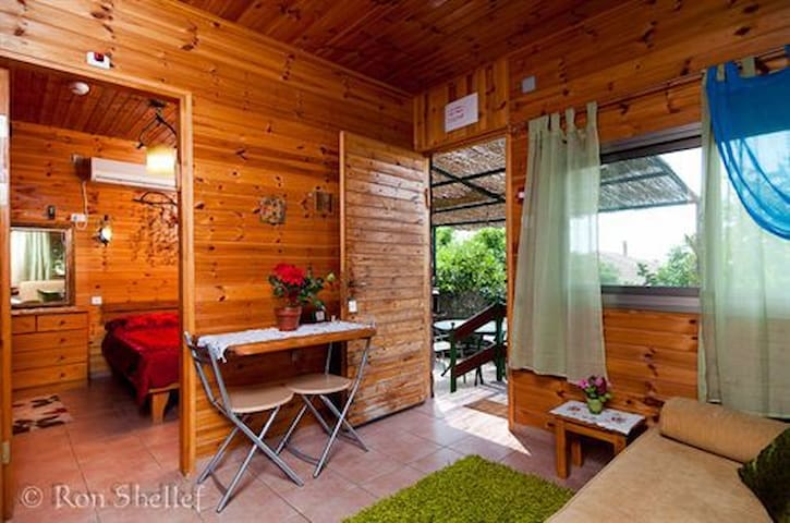 "Romantic cabin ""Arbel"" sea of galilee - Migdal - Chatka"