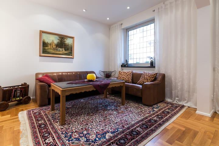 Charmante, voll möblierte Wohnung - Kamp-Lintfort - Leilighet