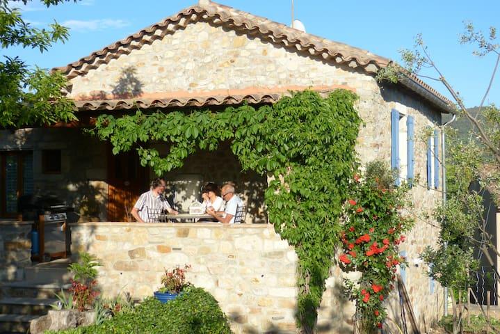 La Clède de Monéry, gîte de charme en Cévennes - Saint-Jean-du-Gard - Ev