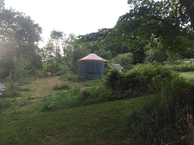 Yurt near Kingdom Trails - Outdoor heaven! - Burke