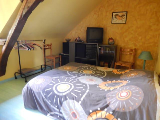A louer, chambre meublé chez l'habitant - Saint-Jean-des-Mauvrets - Casa