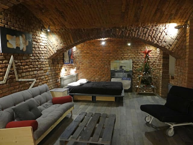 "LOFT APARTMENT ""THE DOORS"" in center of Prague - Praag - Service appartement"