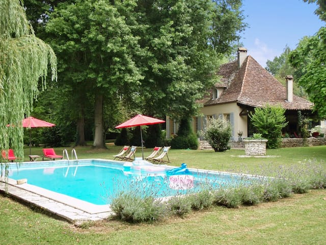 House with pool, park, and river - Bergerac - Casa