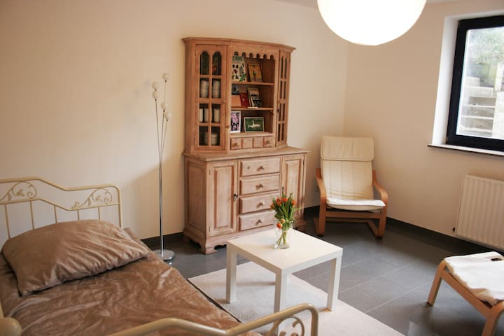 Souterrainwohnung auf Obsthof - Krefeld - 公寓