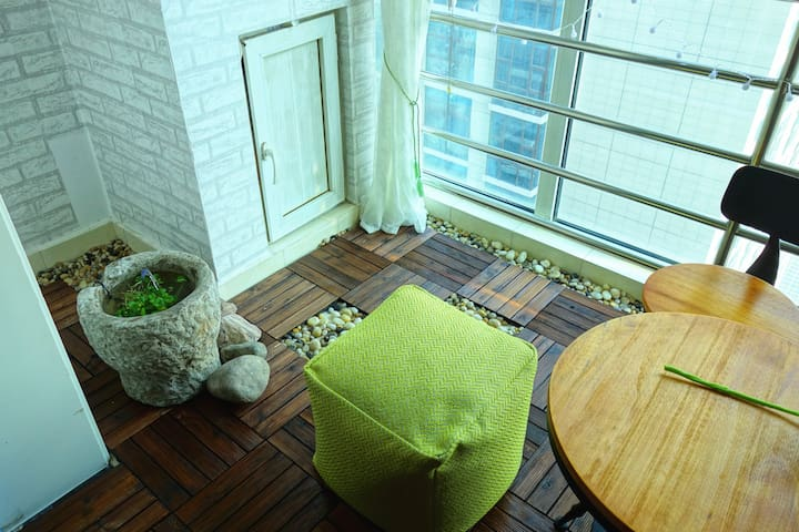 Casule feeling studio closed line 1 shuangqiao - Pequim - Apartamento