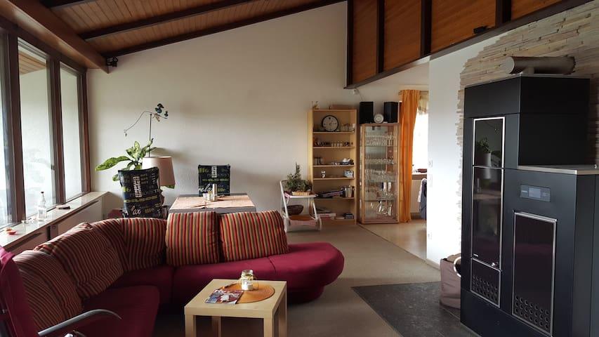 Familienfreundliches Ferienhaus nahe Bodensee - Pfullendorf - 一軒家