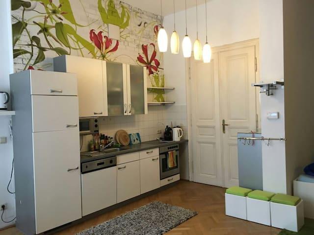 20m² in spacious&charming city apmt - Vienna - Loft