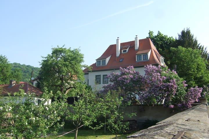 Stilvoll und komfortabel - historisches Kyauhaus - Radebeul - Appartement