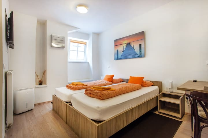 Orange Apartment  in FABRKA  - Ljubljana - Lejlighed