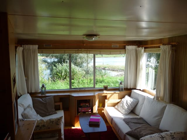 Caravan with a beautiful river view - Wapenveld - Andre