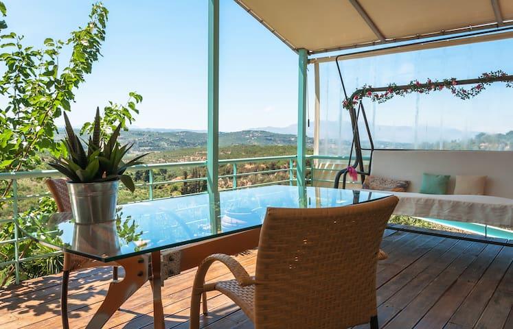 Eco-Friendly, Full Privacy Home in Cretan Nature! - Xamoudochori - Ev