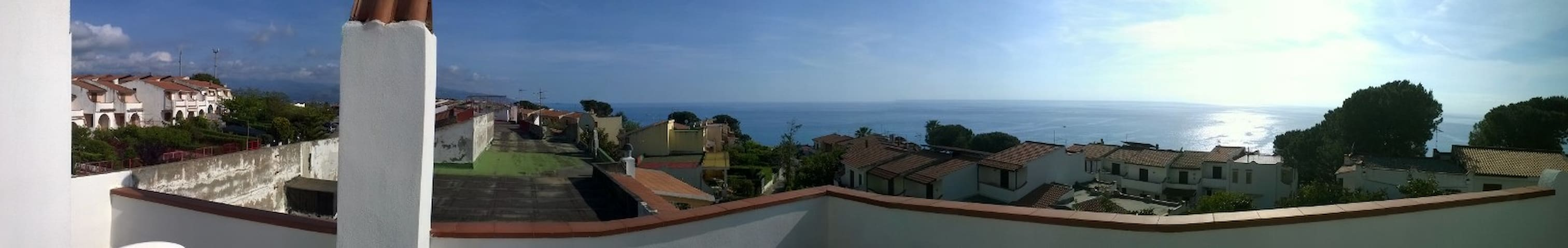 Penthouse With Terrace - Scalea - Appartement