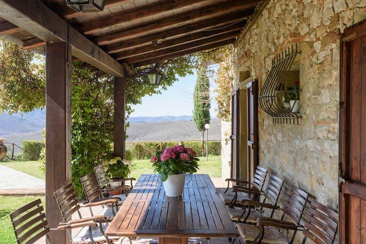 Villa San Martino:heart of Tuscany - Civitella in Val di Chiana - Villa
