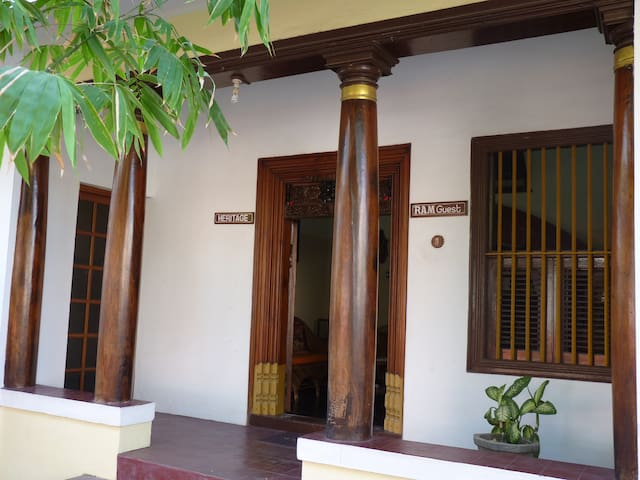 A double bedroom near French quarter - Puducherry - Bed & Breakfast
