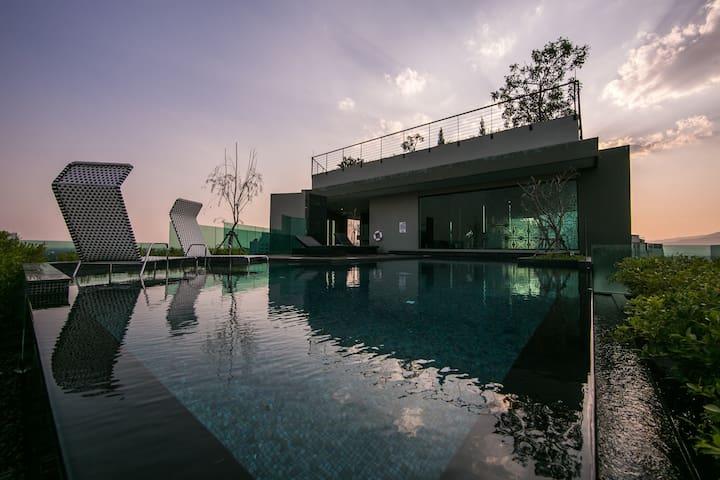 Apartment of Best place     长康路豪华公寓 - Thesaban Nakhon Chiang Mai - Wohnung